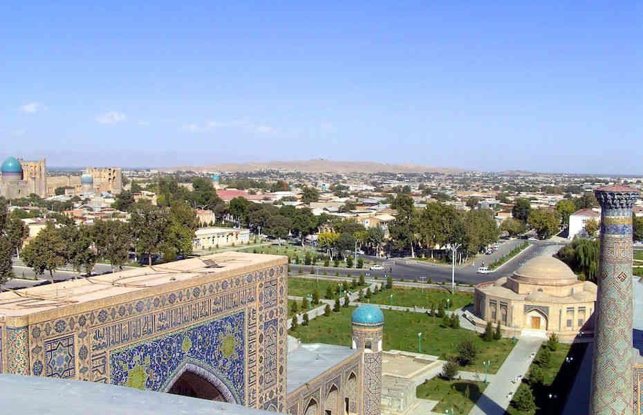 Anreise Usbekistan
