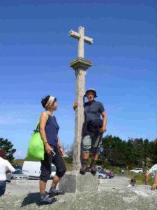 Kreuz am Kap Finisterre