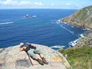 Finisterre- Ende meiner Pilgerreise- schlapp, aber glücklich
